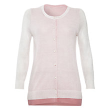 Buy Damsel in a dress Marina Cardigan, Cream/Pink Online at johnlewis.com