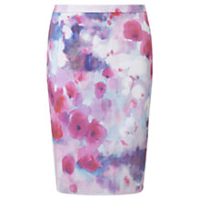 Buy Jigsaw Watercolour Pencil Skirt Online at johnlewis.com