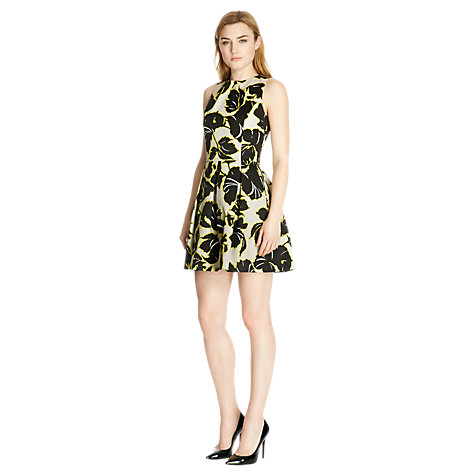 Buy Warehouse Bamako Print Dress, Multi Online at johnlewis.com