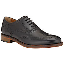 Buy John Lewis Bentley Storm Brogue Shoes, Black Online at johnlewis.com