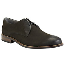 Buy Kin by John Lewis George Suede Derby Shoes, Black Online at johnlewis.com
