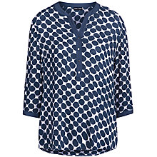 Buy Gerry Weber Blouse, Blue/Grey Online at johnlewis.com
