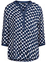 Gerry Weber Blouse, Blue/Grey