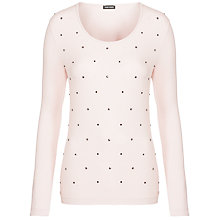 Buy Gerry Weber Long Sleeve Studded Top Online at johnlewis.com