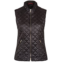 Buy Gerry Weber Quilted Double Zip Gilet Jacket Online at johnlewis.com
