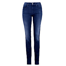 Buy Armani Jeans Powerstretch Slim Jeans, Mid Blue Online at johnlewis.com