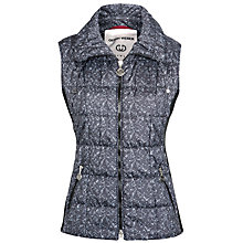 Buy Gerry Weber Speckle Print Gilet, Grey/Black Online at johnlewis.com