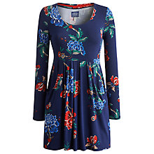 Buy Joules Alexi Floral Tunic Dress, French Navy Online at johnlewis.com