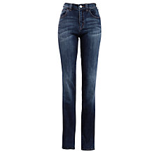 Buy Armani Jeans Contrast Stitch Jeans, Blue Online at johnlewis.com