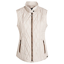 Buy Gerry Weber Quilt Gilet, Stone Online at johnlewis.com