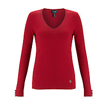 Buy Armani Jeans Jumper, Red Online at johnlewis.com