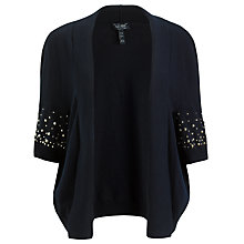 Buy Armani Jeans Kimono Cardigan, Navy Online at johnlewis.com