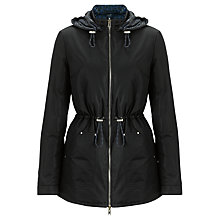 Buy Armani Jeans Reversible Coat, Black/Blue Online at johnlewis.com