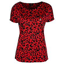 Buy Armani Jeans Leopard Tee Online at johnlewis.com