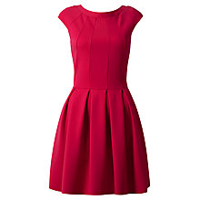 Buy Almari Cut-Out Back Panel Dress, Pink Online at johnlewis.com
