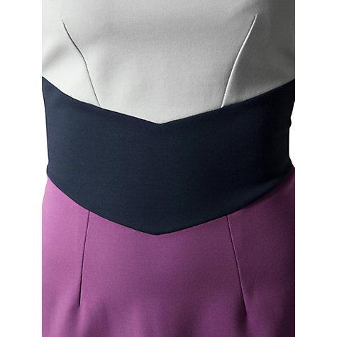 Buy Closet Colour Block Dress, Multi Online at johnlewis.com