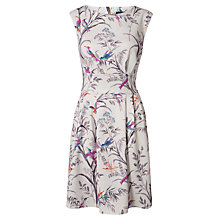 Buy Closet Bird Print Scuba Dress, Multi Online at johnlewis.com
