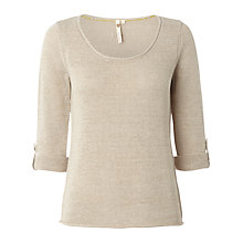 Buy White Stuff Summer Plain Knitted Jumper Online at johnlewis.com