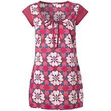 Buy White Stuff Carolina Floral Print Tunic Top, Pink/Multi Online at johnlewis.com