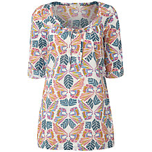 Buy White Stuff Fly A Kite Kaftan Top, Ivory Online at johnlewis.com