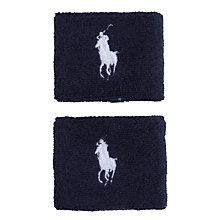 Buy Polo Ralph Lauren Wristband, French Navy/Deck White, Pack of 2, One Size Online at johnlewis.com