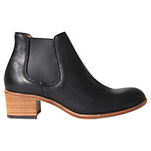 Buy H by Hudson Bronte Ankle Boots, Black Online at johnlewis.com