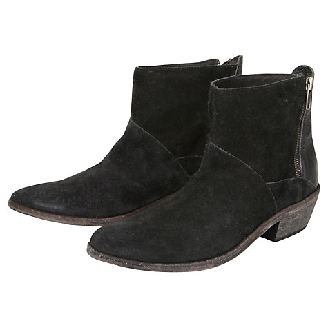 Buy H by Hudson Fop Leather Ankle Boots Online at johnlewis.com