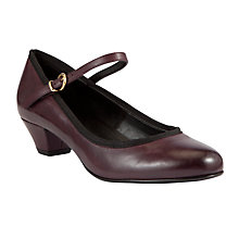 Buy John Lewis Raleigh Mary Jane Court Shoes, Purple Online at johnlewis.com