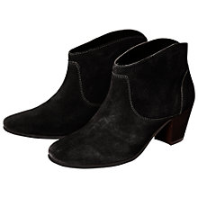 Buy H by Hudson Kiver Ankle Boots, Black Online at johnlewis.com