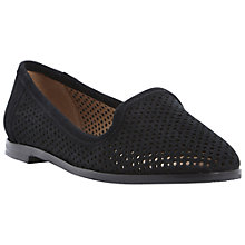 Buy Berite Langham Laser Cut Out Suede Slipper Shoes Online at johnlewis.com
