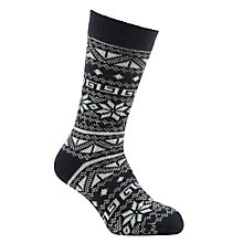 Buy John Lewis Patterned Slipper Socks Online at johnlewis.com