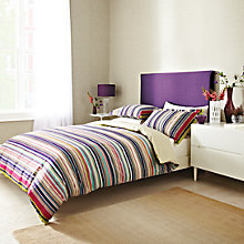 Buy Harlequin Barcode Stripe Duvet Cover and Pillowcase Set Online at johnlewis.com