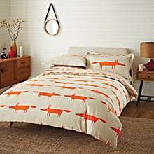 Buy Scion Mr Fox Duvet Cover and Pillowcase Set Online at johnlewis.com