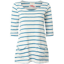 Buy White Stuff Chesil T-Shirt, Seaspray Online at johnlewis.com