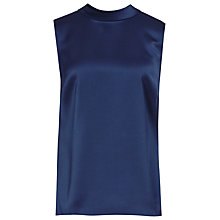 Buy Reiss Bow Back Blondel Top, Navy Cosmos Online at johnlewis.com