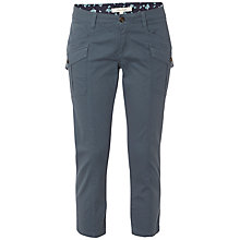 Buy White Stuff Ocean Bay Cropped Trousers, Light Ocean Online at johnlewis.com
