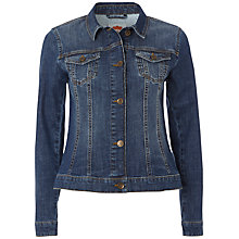 Buy White Stuff Evangeline Jacket, Mid Denim Online at johnlewis.com