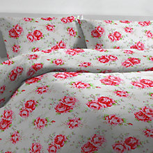 Buy Cath Kidston Classic Rose Duvet Cover and Pillowcase Set Online at johnlewis.com
