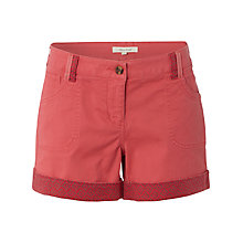 Buy White Stuff Sand Castle Shorts, Calypso Coral Online at johnlewis.com