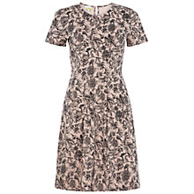 Buy NW3 by Hobbs Karen Dress, Pearl Pink/Black Online at johnlewis.com