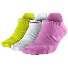 Buy Nike Elite Dri-Fit Cushioning Socks, Pack of 3 Online at johnlewis.com
