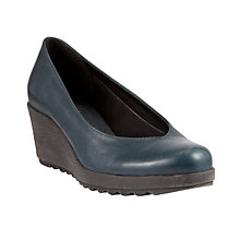 Buy John Lewis Designed for Comfort Stork Leather Court Shoes Online at johnlewis.com