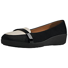 Buy FitFlop F-Pop Leather Loafers Online at johnlewis.com