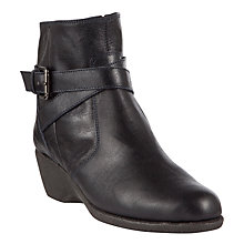 Buy John Lewis Designed for Comfort Warbler Leather Ankle Boots Online at johnlewis.com