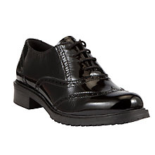 Buy Designed for Comfort by John Lewis Secretary Patent Brogue Shoes Online at johnlewis.com