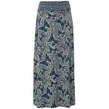 Buy White Stuff Flutter Maxi Skirt, Ocean Teal Online at johnlewis.com