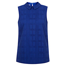 Buy Hobbs Mercy Top, Brilliant Blue Online at johnlewis.com