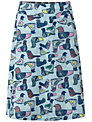White Stuff Birdy Reversible Skirt, Aqua