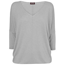 Buy Phase Eight Bailey Blouson Jumper, Silver Online at johnlewis.com