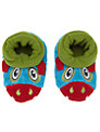 Totes Monster Booty Slippers, Blue/Multi